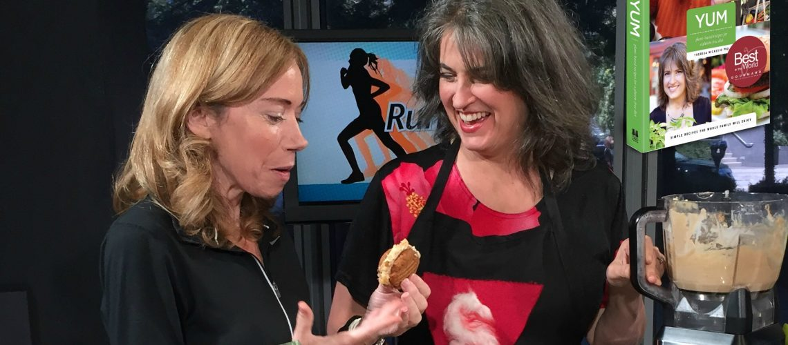 TV Interview & Demo of YUM's Low-Glycemic Buttercream Frosting Recipe Invention