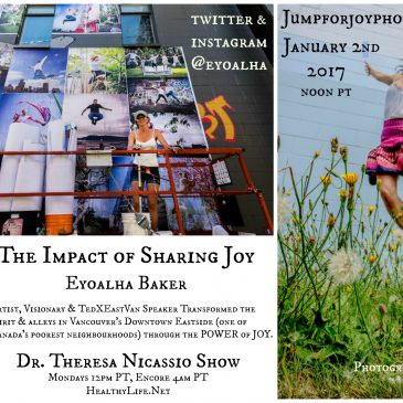 Eyoalha Baker: The Impact of Sharing Joy on the Dr. Theresa Nicassio Show