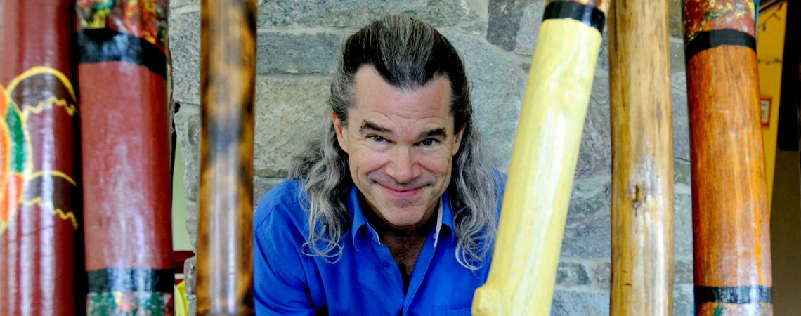 Pitz Quattrone: DIDGERIDOO MUSICIAN & HEALER - Monday April 10th at noon PT on The Dr. Theresa Nicassio Show | Photo by Jeb Wallace-Brodeur
