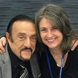 Dr. Theresa Nicassio Meets Dr. Phillip Zimbardo at Evolution of Psychotherapy Conference