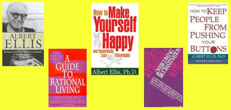 Dr. Albert Ellis was a prolific writer, having written over 85 published books about REBT and literally thousands of published articles and chapters in other peoples' books. His topics spanned the range of the challenges of everyday living, offering simple tools to help readers transform and transcend their inner challenges. His books offered hope and empowerment to the masses, many of whom would never otherwise likely be able or willing to seek therapy. He was the first psychologist to bring psychology to the mainstream public in such a major way.