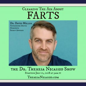 Hear Gut-Brain-Microbiome Focused Naturopath talk about what FARTS can tell you about your health on The Dr. Theresa NIcassio Show.