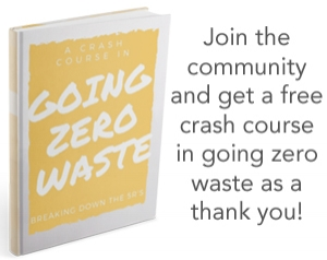 A CRASH COURSE IN GOING ZERO WASTE by Kathryn Kellogg