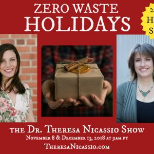 ZERO-WASTE HOLIDAYS - 2 Part Series with KATHRYN KELLOGG on The Dr. Theresa Nicassio Show