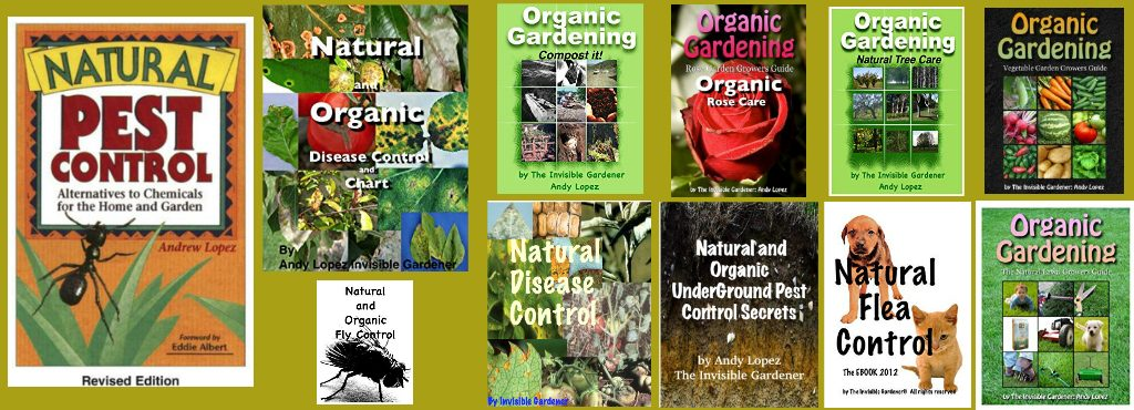 Andy Lopez Natural Pest Control Books