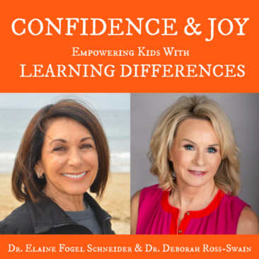 EMPOWERING KIDS WITH LEARNING DIFFERENCES: Hear child advocates Dr. Deborah Ross-Swain & Dr. Elaine Fogel Schneider share strategies to help kids with learning differences discover SUCCESS, CONFIDENCE & JOY. Interview on The Dr. Theresa Nicassio Show on HealthyLife.net Radio